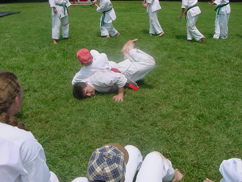 My Dad getting his face planted into the ground by Shihan Hedderman